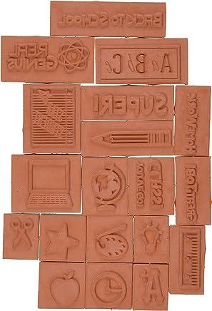 Amazon ae: inkadinkado-teacher-mason-jar-foam-stamps-sheet-3-by-5