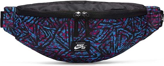 Nike SB Heritage Sac Banane Sport Adulte Unisexe, Black/Laser Blue ...