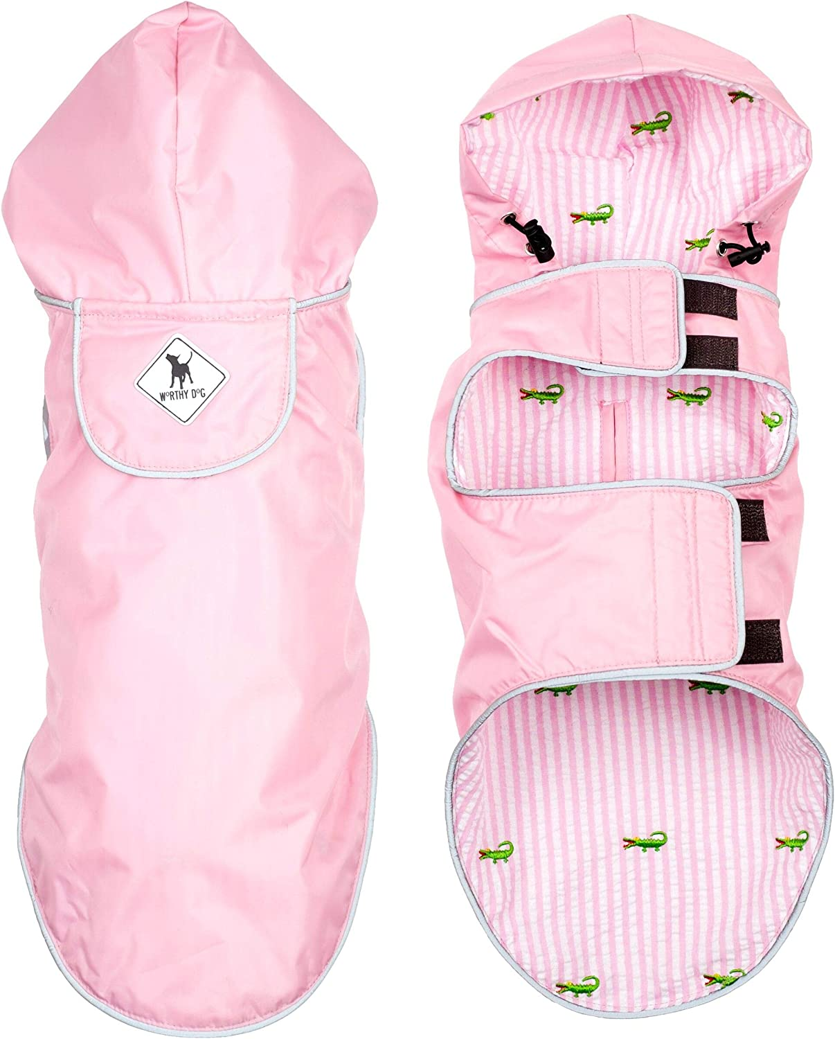 Sale item The Worthy Dog Apex Jacket Made Lined Nylon Water Max 74% OFF Fleece of
