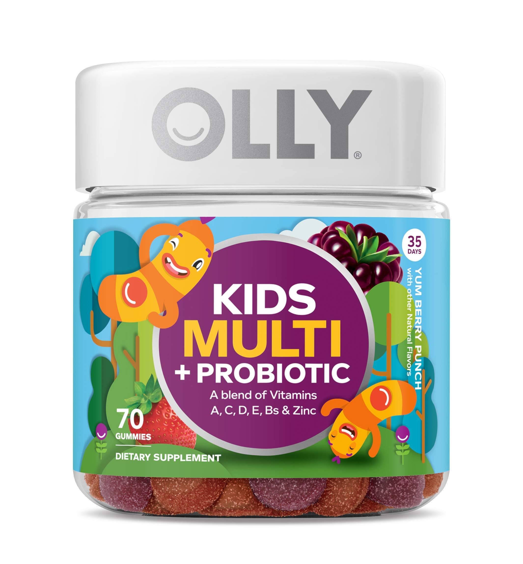 Multivitamin Probiotic Supplement PROBIOTICS Gummies