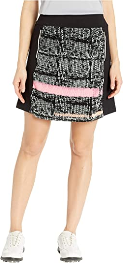 Crunchy Mad Plaid Print Skort