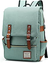 UGRACE Slim Business Laptop Backpack Elegant Casual Daypacks Outdoor Sports Rucksack School Shoulder Bag for Men Women, Te...