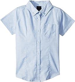 Short Sleeve Oxford Shirt (Little Kids)