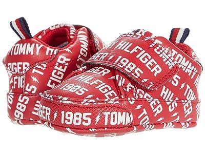 Tommy Hilfiger Kids Iconic Court Logo (Infant/Toddler) (Red/White) Girl