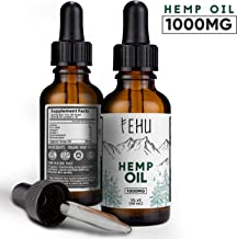 Hemp Oil for Pain (1000mg -30ml) (1) | Colorado Farmed and Manufactured | Pure Organic Hemp Oil for Sleep - Hemp Oil for Anxiety | Vegan Omega - 3, 6, 9 | Made in USA