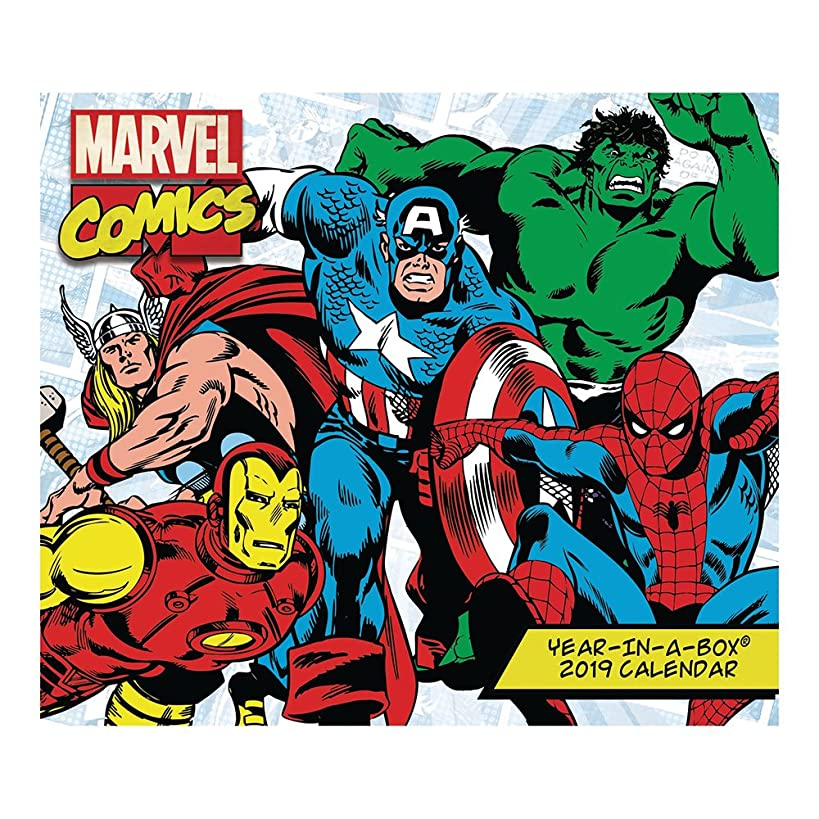 History of Marvel Year-in-A-Box (2019)