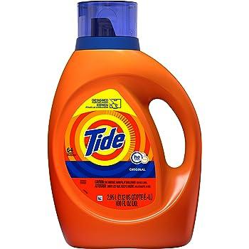 Tide Liquid Laundry Detergent, Original, 64 loads
