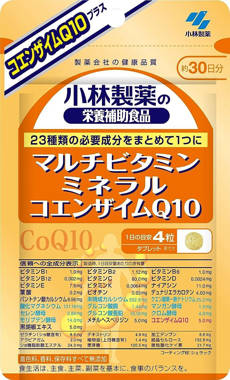 ブレース箱落ち着かない小林製薬の栄養補助食品 マルチビタミン ミネラル コエンザイムQ10 約30日分 120粒