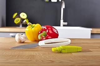 Vacu Vin 4662660 - Cuchillo para vegetales y cepillo para limpiar impurezas de Vacuvin