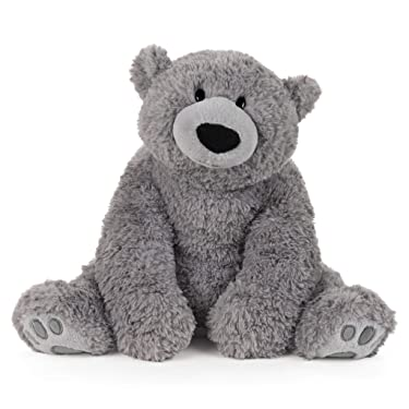 GUND Mylo Seated Gray Bear, 18""