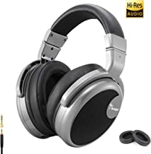 Premium Over-Ear Headphone, Spadger CD990, Hi-Res Studio Certified, Professional DJ Stereo Monitor, Super Confortable, Extra Long Cable & Adapter Plug