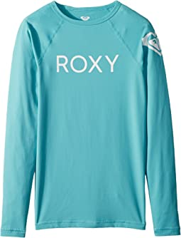 Roxy Kids Funny Waves Long Sleeve Rashguard (Big Kids)