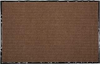 J&M Home Fashions Heavy Duty Outdoor/Indoor Doormat, 30x48, Brown Utility Mat