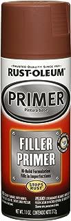 Rust-Oleum 249320 Automotive Filler Primer Spray Paint, 11 oz, Red
