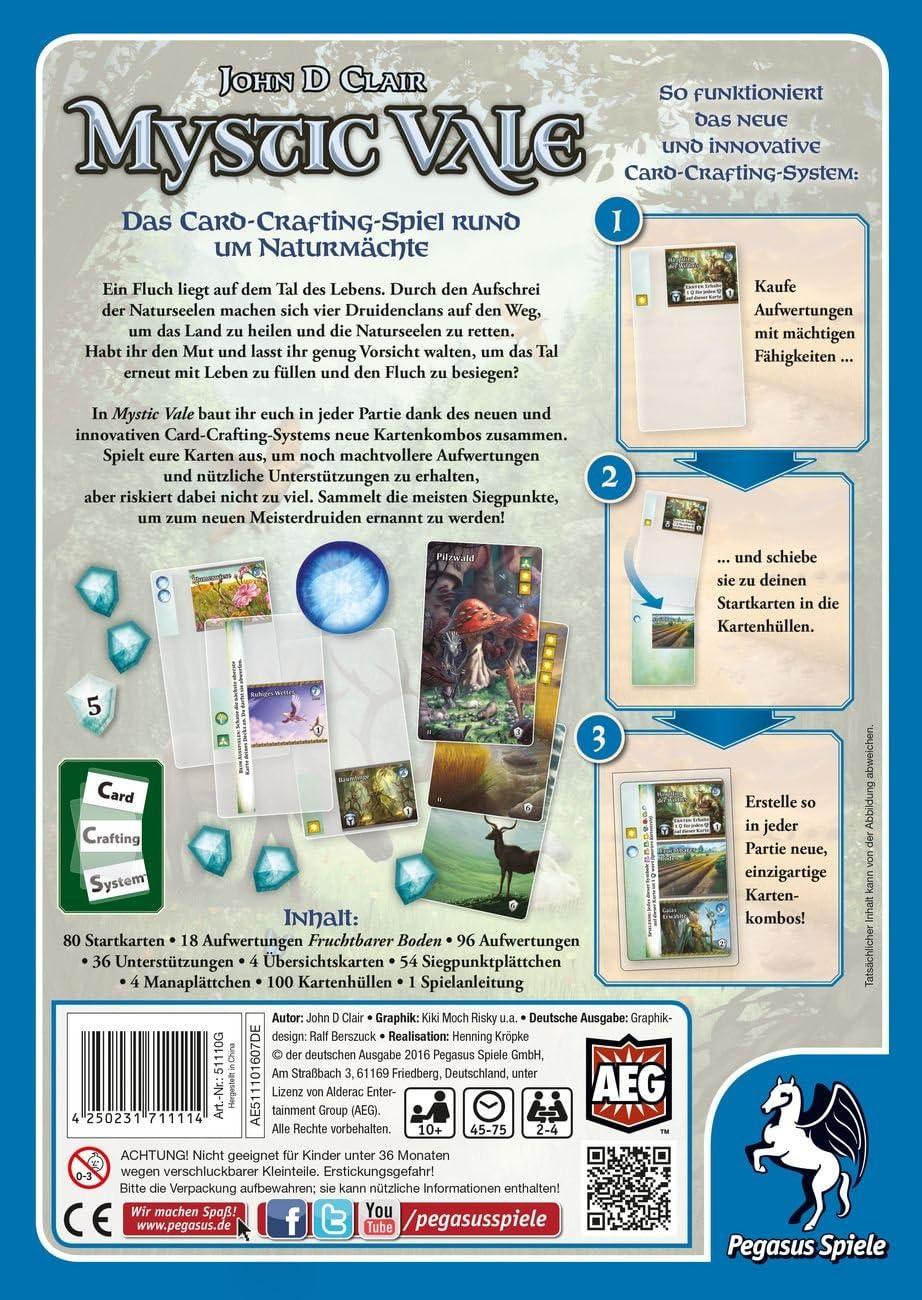 Pegasus Spiele 20G   Mystic Vale deutsche Ausgabe Amazon ...