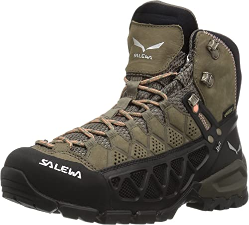Salewa WS Alp FFaible Mid GTX, Chaussures de Randonnée Hautes Femme