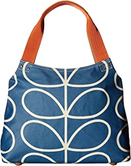 Orla Kiely - Giant Linear Stem Classic Zip Shoulder Bag