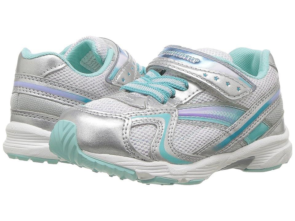 Tsukihoshi Kids Glitz (Toddler/Little Kid) (Silver/Mint) Girls Shoes