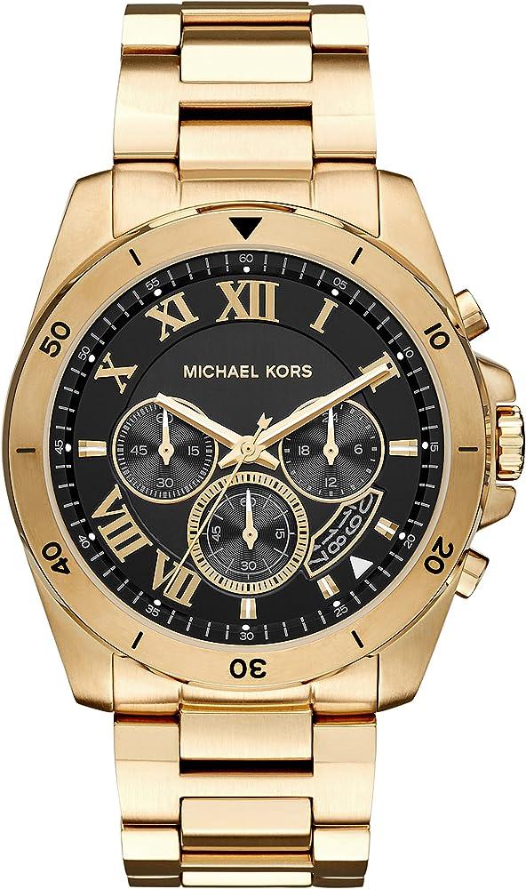 Michael kors orologio, cronografo per donna,in acciaio inossidabile MK8481