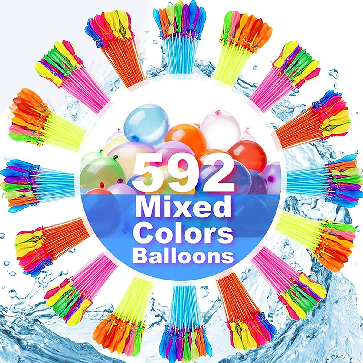 Water Balloons Albuquerque Mall 592 pcs Columbus Mall of Instant Bunch