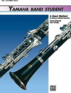 Yamaha Band Student, Book 3: B-Flat Clarinet (Yamaha Band Method)