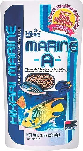 Hikari Marine Fish Food for Larger Marine Fish, 110g