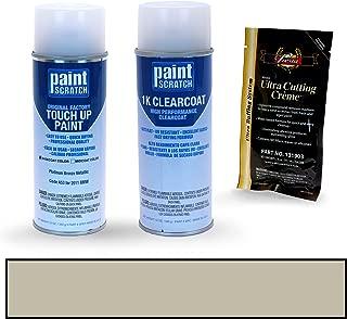 PAINTSCRATCH Platinum Bronze Metallic A53 for 2011 BMW X5 - Touch Up Paint Spray Can Kit - Original Factory OEM Automotive Paint - Color Match Guaranteed