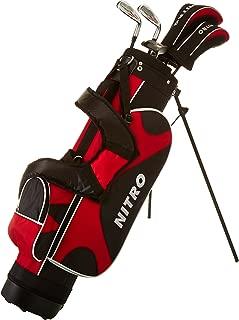Nitro Golf Nitro Crossfire Junior Complete 8 Piece Set (Right Hand), Ages 9-12