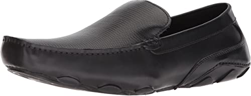 Kenneth Cole REACTION Hommes's Toast Driver Loafer, noir, 7 M US