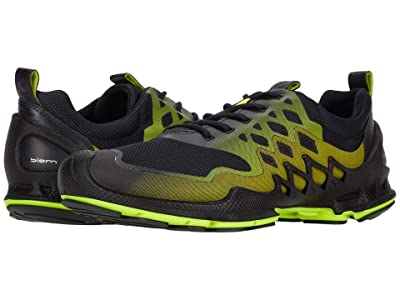 ECCO Sport BIOM AEX Trainer (Black/Lime Punch) Men