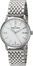 Maurice Lacroix Women's Eliros Quartz Watch with Stainless-Steel Strap, Silver, 16 (Model: EL1094-SS002-110-1)