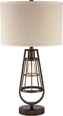 Sporting Retro Solid Wood Lamp Study Table Work Read Bedroom Bedside Table Lamp Us Diversified In Packaging Lights & Lighting