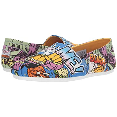 BOBS from SKECHERS Bobs Plush Hangry (Blue Multi) Women