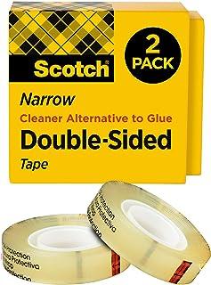 3M Scotch Double Sided Tape, Multi-Colour, 12.19 x 12.44 x 3.55 cm