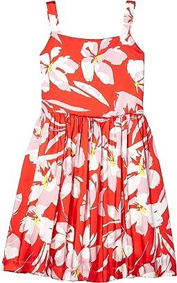 Hibiscus Print Emaline Dress (Big Kids)