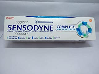 Sensodyne Complete Protection Extra Fresh Fluoride Sensitivity Toothpaste for Sensitive Teeth, 3.4 Ounce (Pack of 3)