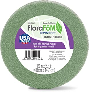 FloraCraft FloraFōM Disc 1.9 Inch x 5.8 Inch Green