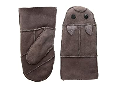 Tundra Boots Kids Sheepskin Mittens (Brown) Extreme Cold Weather Gloves