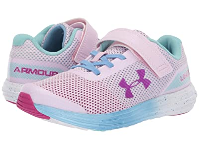 Under Armour Kids UA GPS Surge RN Prism AC (Little Kid) (Arctic Pink/Carolina Blue/Strobe) Girls Shoes