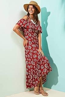 DeFacto Puantiyeli Fırfırlı Plaj Elbisesi