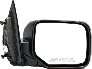 Dorman 955-1719 Passenger Side Power Door Mirror - Folding for Select Honda Models, Black