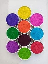 Sivasavi Sand Rangoli Powder Colors Set of 15 (3.5KG) (250 Grams Each)