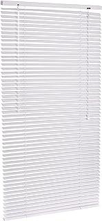 AmazonBasics - Persiana veneciana de aluminio, 70 x 130 cm, Blanco