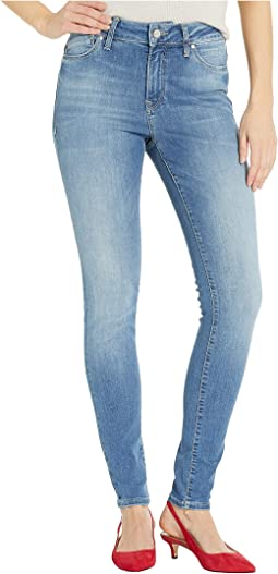 Alissa Super Skinny in Indigo Shaded Nolita
