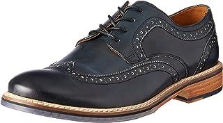 ROCKPORT Men's Dress Comfortable Wyat Wingtip Oxford Shoe, Black