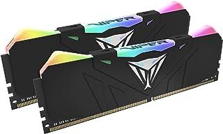 Patriot Viper Gaming デスクトップ用RGBシリーズDDR4 DRAM 4133MHz 16GBキット - ブラック