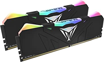 Patriot Viper Gaming RGB Series DDR4 DRAM 3200MHz 16GB Kit - Black - RGB Color Profiles