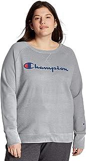 ياقة مستديرة للنساء مقاس كبير من Champion