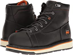 "Gridworks 6"" Alloy Safety Toe Boot"