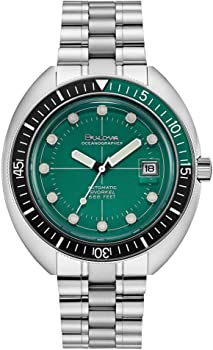 Bulova Special Edition Oceanographer Automatic Green Dial Men's Watch